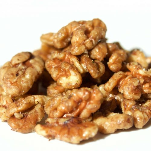 Garlic Salty Walnuts