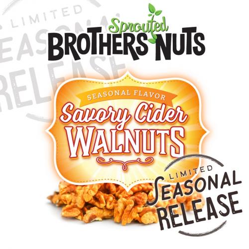 Savory Cider Walnuts